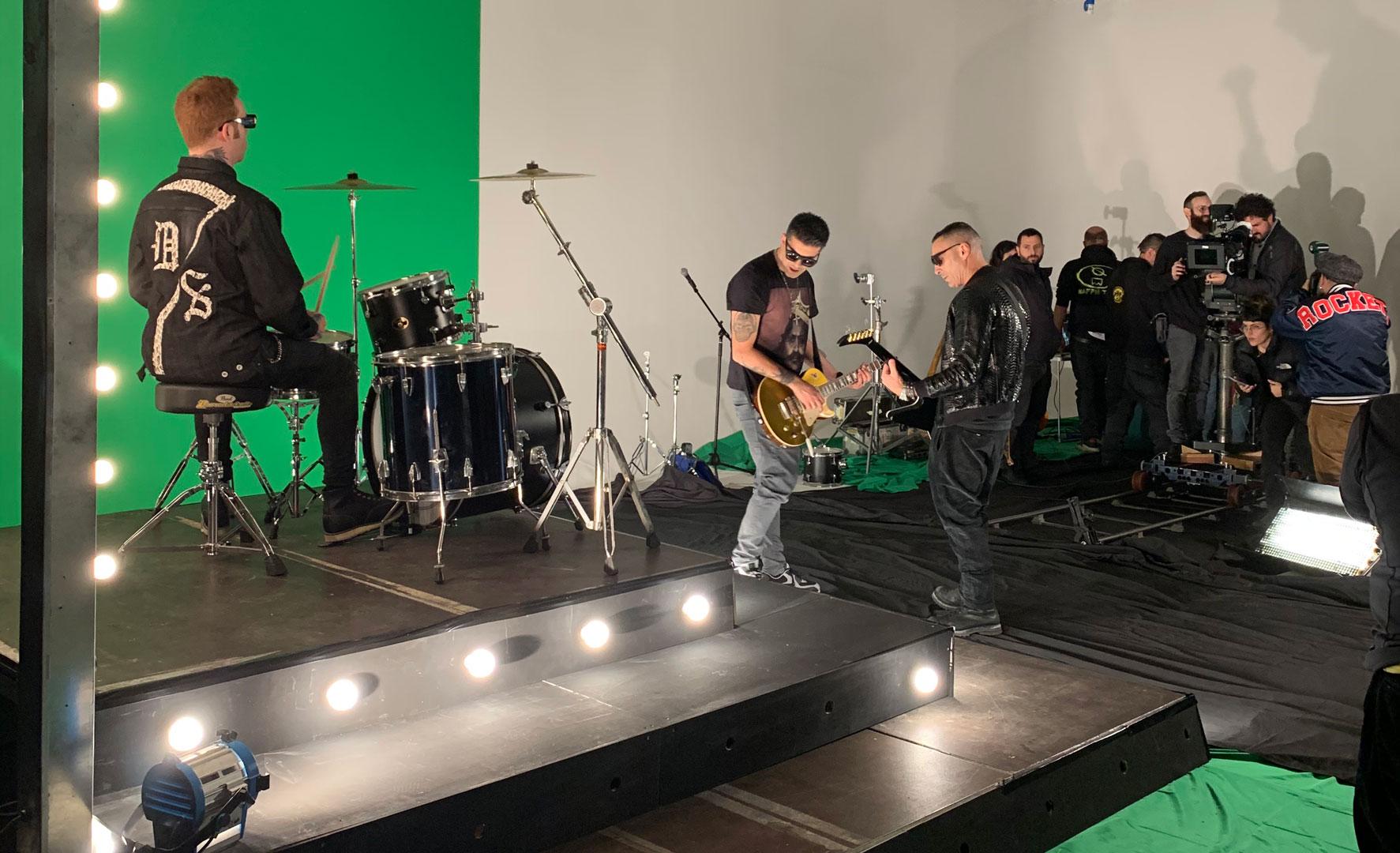 Teatro di posa, Limbo fotografico , Green screen