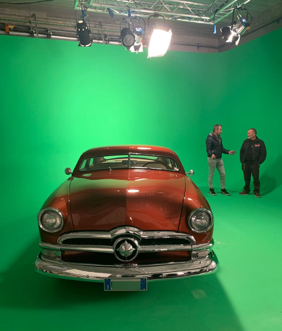 Teatro di posa, Green Screen