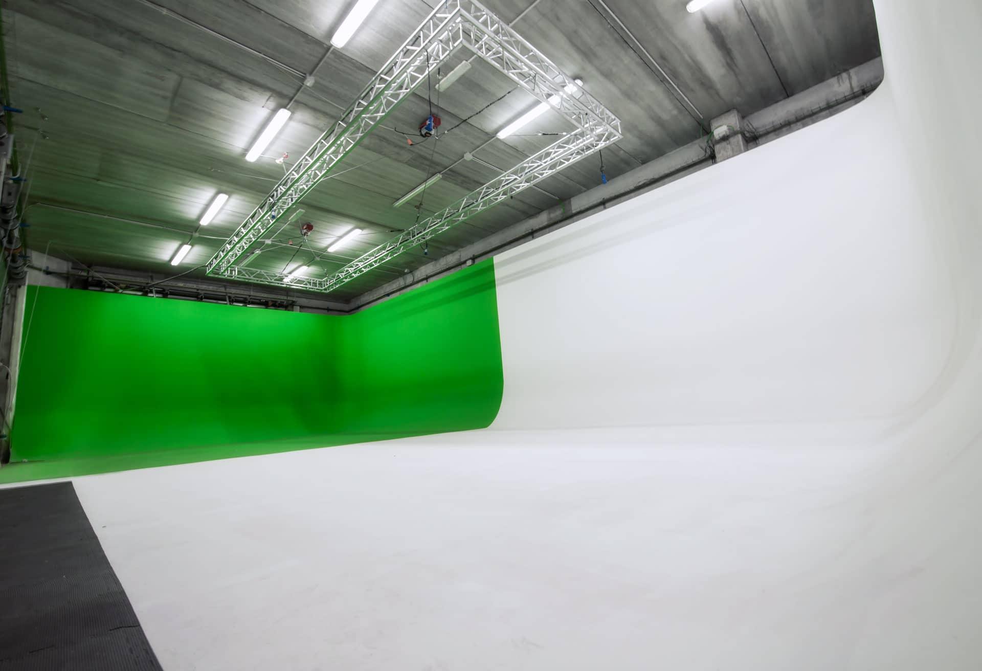 Teatro di posa, Limbo fotografico, Green screen , RAW Studio